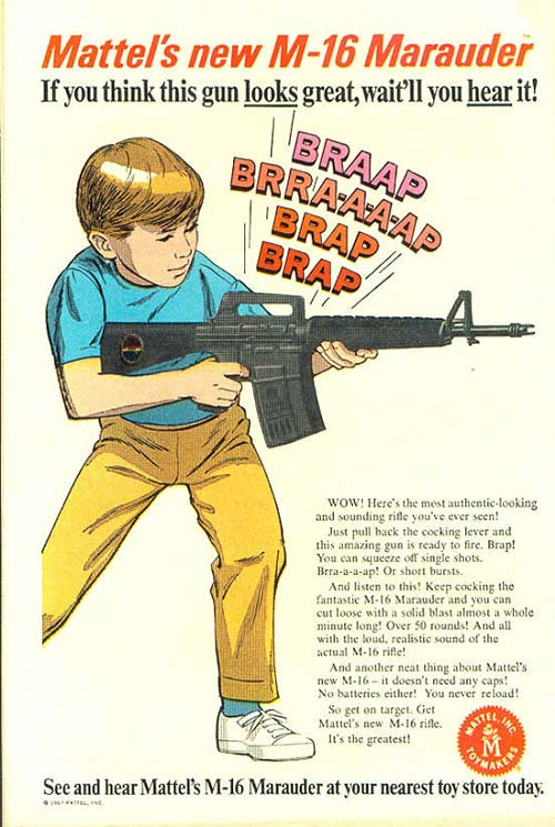 motherjones: … and this isn't even the weirdest of the 20 gun ads we found.