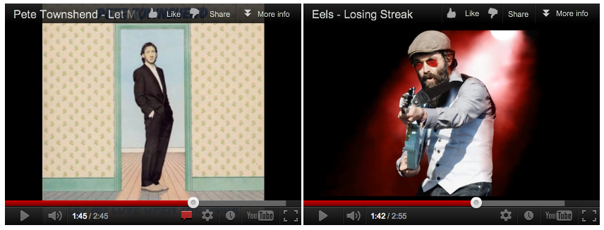 Let My Losing Streak Open The Door Two YouTube videos, to be played simultaneously 2012