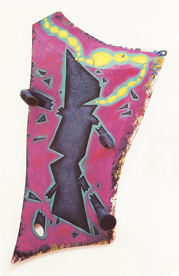 eightiesart: ELIZABETH MURRAY Ok which Bushwick artist made an imitation of this piece last week? 'Fess up! ;)