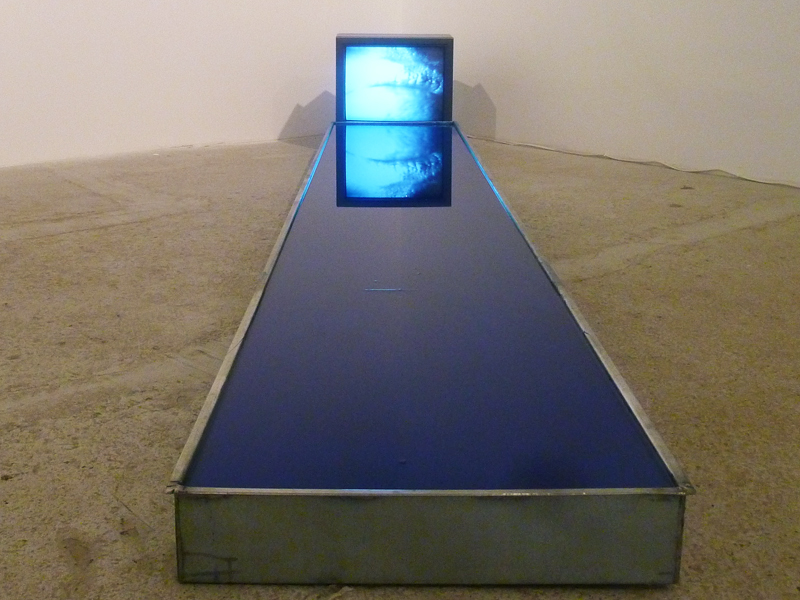 "bhsutton: Dennis Oppenheim's ""Recall"" (1974) from Cristin Tierney's new group exhibition, Post-Movement (through August 3)."