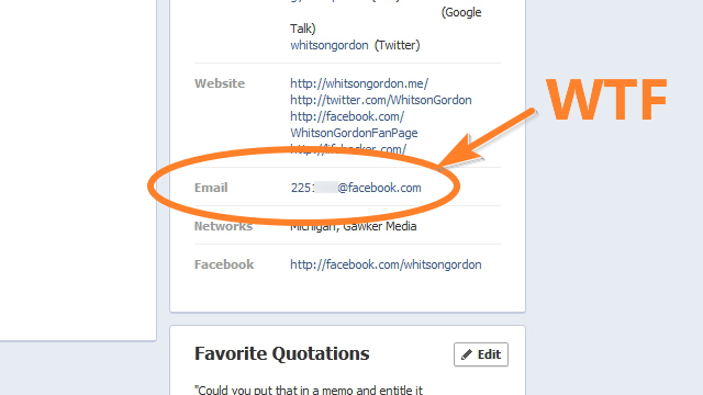 cosmopolitan-fascist: alyshabee: maxistentialist: Lifehacker: Facebook just removed everyone's email address from their profile and replaced it with an @facebook.com email address without asking you. Here's how to easily fix the problem. If you were looking for another reason to delete your account… fyi oh wow i actually emailed someone's fb email the other day but because i thought fb had that as a separate service Facebook you suck so hard. Are you listening? You should be. #suckbook