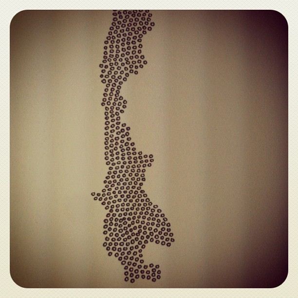 Circle drawing, a beginning. Structuring future negative space. (Taken with Instagram at Man Bartlett Studios)
