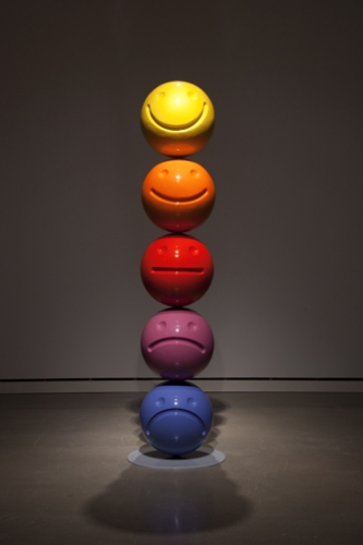Tony Tasset  Mood Sculpture  2011  (via)