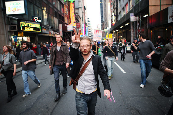 I was photographed by The NY Daily News the other day…   (photo by Kevin Hagen,  via )