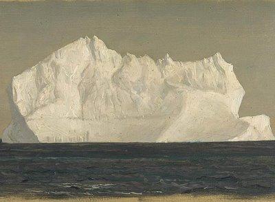 alexandrabarao: Iceberg Flotante, Frederic Edwin Church, 1859 Yes.