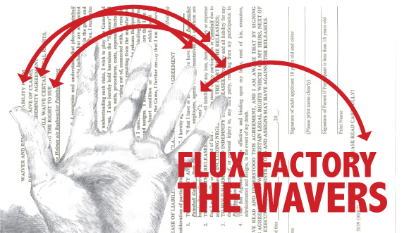 Flux Factory is seeking participants/collaborators for a project for Art in Odd Places! It may or may involve waving to people (and really not much more!). It's gonna be fun, trust us.   Details, email me at manbartlett [at] gmail dotcom. Subject: Wavers.  Oh, you need to be available one or more of the following weekend afternoons (anytime b/t 12pm-6pm): 10/2, 10/3, 10/9, 10/10.  Thanks and we look forward to hearing from you!