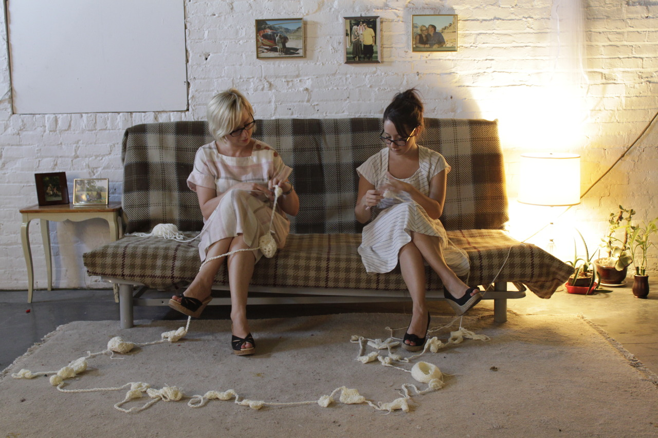 insertsobriquet :      buznik :     The Art of Crocheting @ Flux Factory