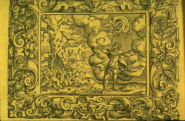 The Birth of the Myrmidon, according to Greek mythology.