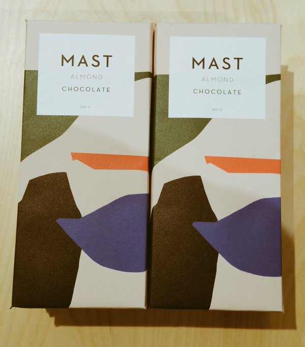 Branding and packaging for Mast Brothers chocolate