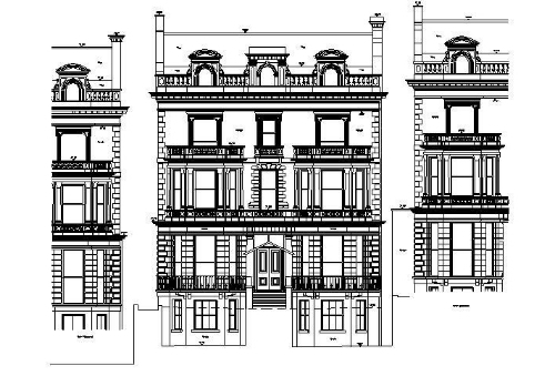 To compliment floor plans, RGL Surveys produce building elevations and street scenes. From the smallest of flats to a Grade 1 listed building, RGL Surveys have the experience and technology to be able to produce detailed plans of any building.