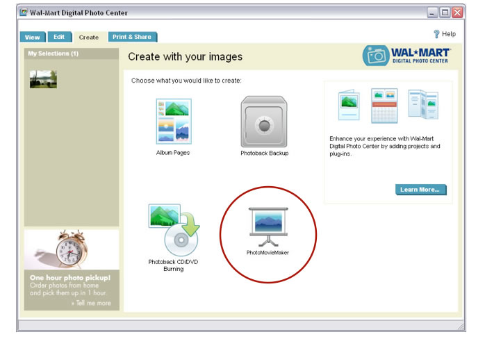 I worked with Preclick to design the Image Zone Express photo organizer for HP as an independent contractor. Preclick maintained the rights to private label the software and up-sell plug-in products through the app on the page below.