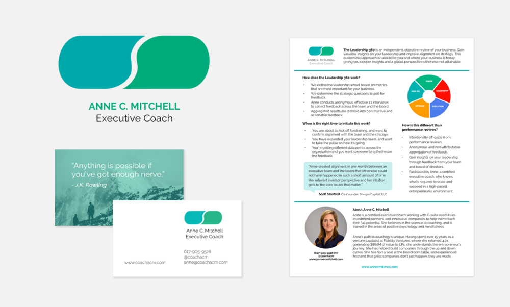 CoachACM / 2016  Branding, website and marketing materials
