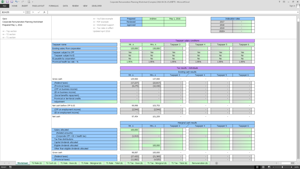 Corporate Remuneration Planning Worksheet (Complex) 2016-04-30 v71.65$TTI_Cover.png