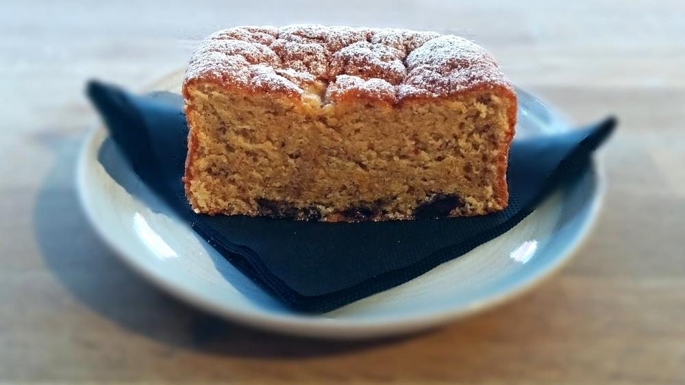 cinnamon cake £2.20