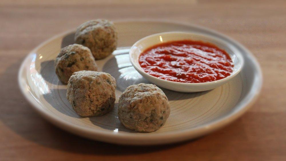 meatballs £5.70