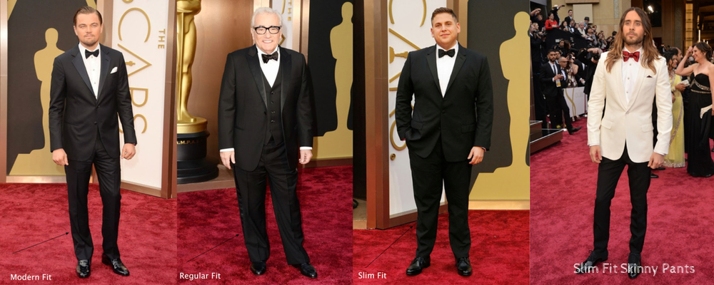 Some people don't realize a Slim fit or Modern fit Tuxedo tends to be more flattering for larger guys because they are slimmer in the right places.
