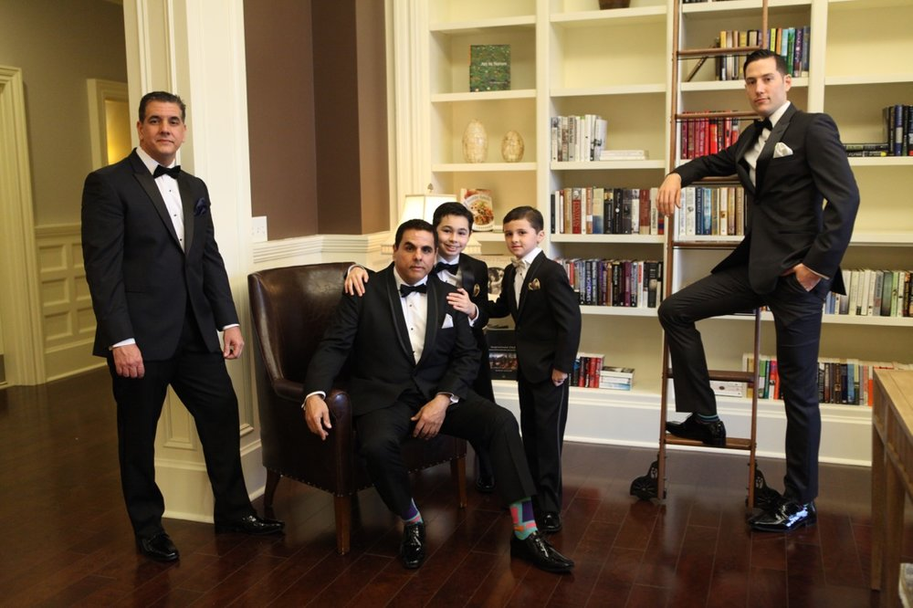 Shutterbug Photography Tuxedos by us.