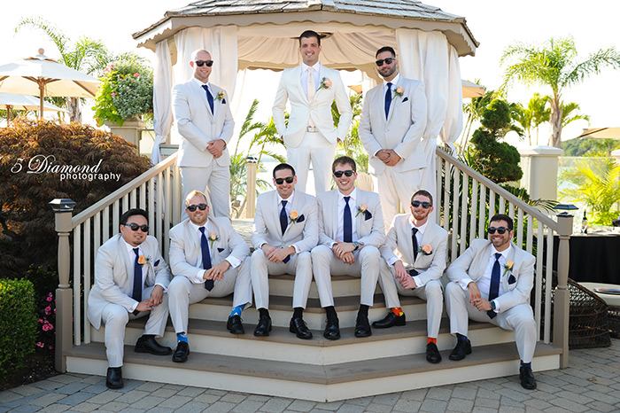 Hi Team Oscar :)  I just wanted to reach out to you and thank you for providing us the awesome tuxedos for my wedding back on the 4th. Everyone looked fantastic and I think we nailed it! I wanted to share the below picture the photographer shared so far so that you can see the group shot. Thanks again for the great service! Sincerely, Anthony C.