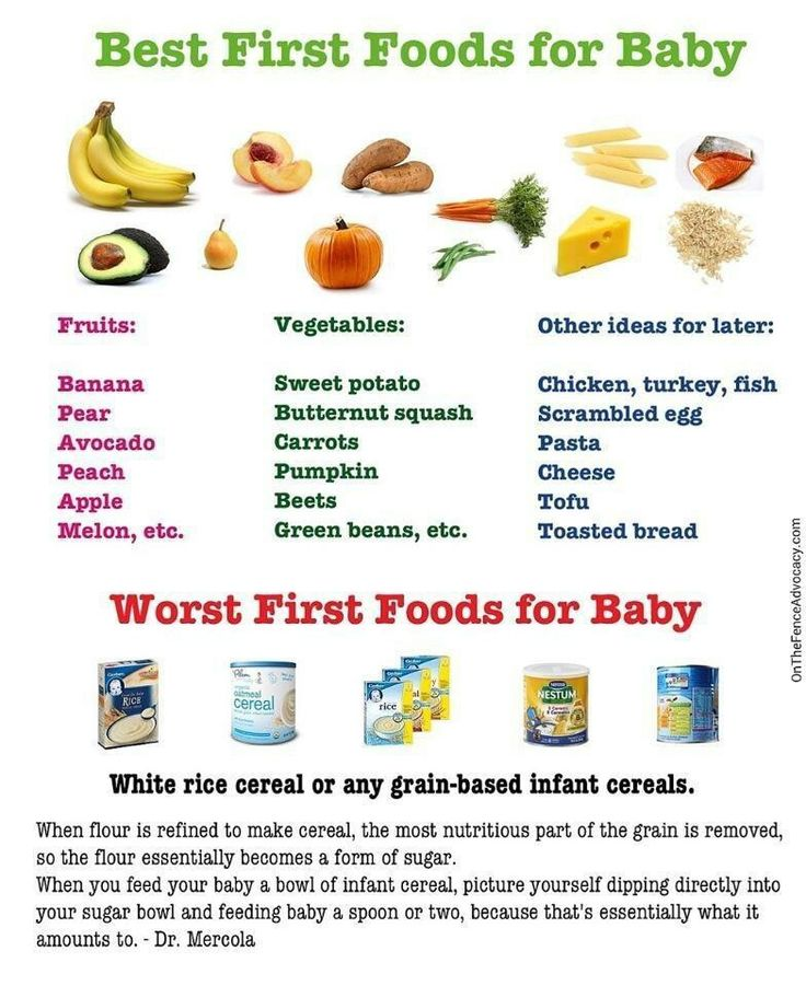 Baby Meals 12 Months