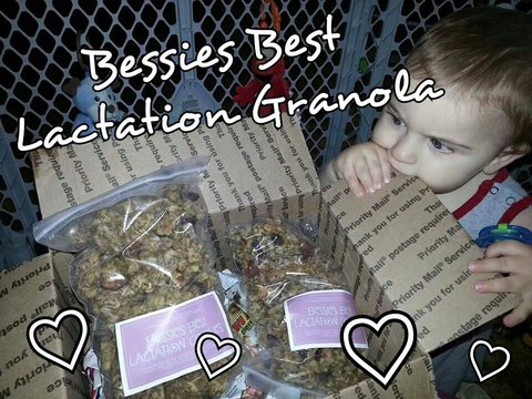 Bessie's Best: Lactation Cookies