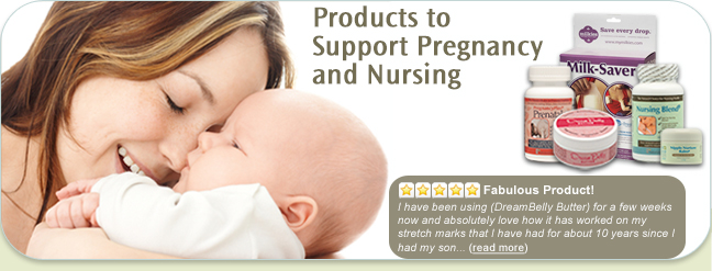 Fairhaven Health Pregnancy and Nursing Items