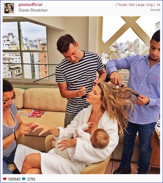 Five Reasons Celebrities can Help Normalize Breastfeeding
