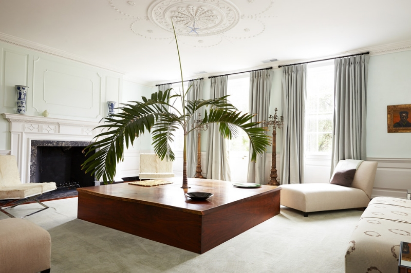 Dean Pollak's Formal Living Room