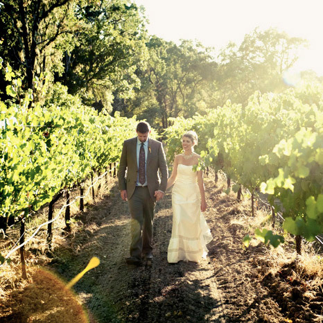Green Wedding, Campovida, Hopland