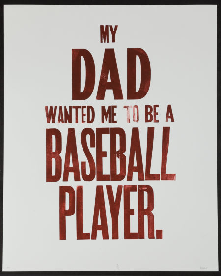 """Roy Hobbs """"My Dad Always Wanted Me To Be A Baseball Player."""""""