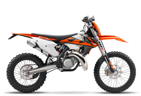 2018 150 XC-W $8199.00 Minimum Fuss, Maximum Fun 'XC' means cross-country. 'W' represents its wide-ratio transmission. 'KTM' stands for winning. This model is a race-ready bike built for closed course enduro racing. With the agility of a 125 and enough muscle to take the fight to the 250 cc 4-Strokes, this bike punches well above its weight. That's why when the going gets tough, the tough get an XC-W.