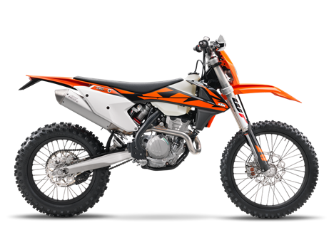 2018 250 EXC-F $9599.00 A recipe for success Fill an agile, state-of-the-art chassis with an engine delivering class-leading power and torque. Then dress it with top class components, ensuring that the new 4-stroke maintains its edge over the competition. The result is a READY TO RACE dual sport suitable for amateur explorers, while still satisfying the pros. Eat that, adversaries.