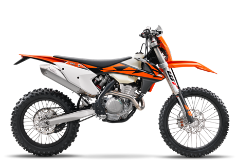 2018 350 EXC-F $10,599.00 Built to get wild You don't just become the bestseller. You have to earn it. With mud, sweat and gears. The power-to-weight ratio of its compact DOHC engine is spot on for any terrain and situation. It will answer the call of the wild with precise handling and tough suspension. No matter how mud-caked your face is, that smile will shine through. When you find the end of the trail, you will know what we're talking about.
