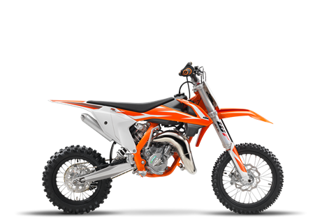 2018 65 SX $4,999.00 Fast has no age limit The KTM 65 SX is a fully-fledged piece of sports equipment for young pilots aged around 8- to 12-years-old. This year's top student features a revolutionary WP AER 35 front fork, ultra cool graphics and sets the standard in terms of power, riding dynamics, equipment and craftsmanship. Like its larger counterparts, the KTM 65 SX is truly READY TO RACE for its young competitors.