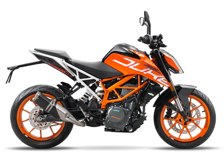 2017 390 Duke  $5299.00  One For All  The KTM 390 DUKE breathes life into values that have made motorcycling so amazing for decades. It combines maximum riding pleasure with optimum user value and comes out on top wherever nimble handling counts. Light as a feather, powerful and packed with state-of-the-art technology, it guarantees a thrilling ride, whether you're in the urban jungle or a forest of bends. 390 DUKE – nowhere you will find more motorcycle per euro.