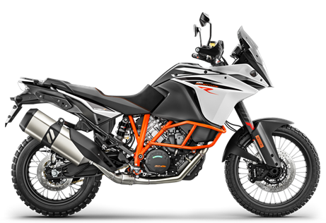 2017 1090R Adventure  $14699.00  Bring it On  The KTM 1090 ADVENTURE R stares down anything in its path. Bespoke WP suspension, offroad wheels and a tough yet fuel-efficient engine are ready to rumble. Decades of rally raid victories roar within. As shrewd as it is chiseled, this bike uses the same state-of-the-art technology as the KTM 1290 ADVENTURE R and even though its engine capacity is smaller, it's still big on power: 125 hp (92 kW). That's 23 more than Fabrizio Meoni's Dakar winning 950. The world is yours - Devour it.