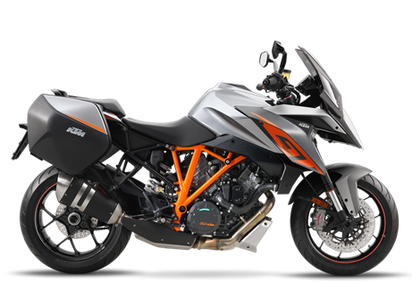 2017 1290 Superduke GT  $19,999.00  Adrenaline Express  The 1290 Super Duke R got us thinking. What if we could match The Beast's interstellar performance to all day, two-up comfort? What if we would train the most dynamic naked bike ever to race any paved road the world has on offer? Regardless of the weather. Over and over again. So we brought out the big guns, aiming for state-of-the-art ergonomics, electronics and extreme stamina. The result is a long distance V-twin rocket that proudly roars past the top of the food chain, hungry for more. For miles. The faster, the better. A motorcycle that is equally happy hunting horizons, as it is chasing superbikes. And crushing them – not only at cruising speeds. Welcome to the world of the 1290 Super Duke GT, where refinement, comfort, speed and ultimate performance rule.
