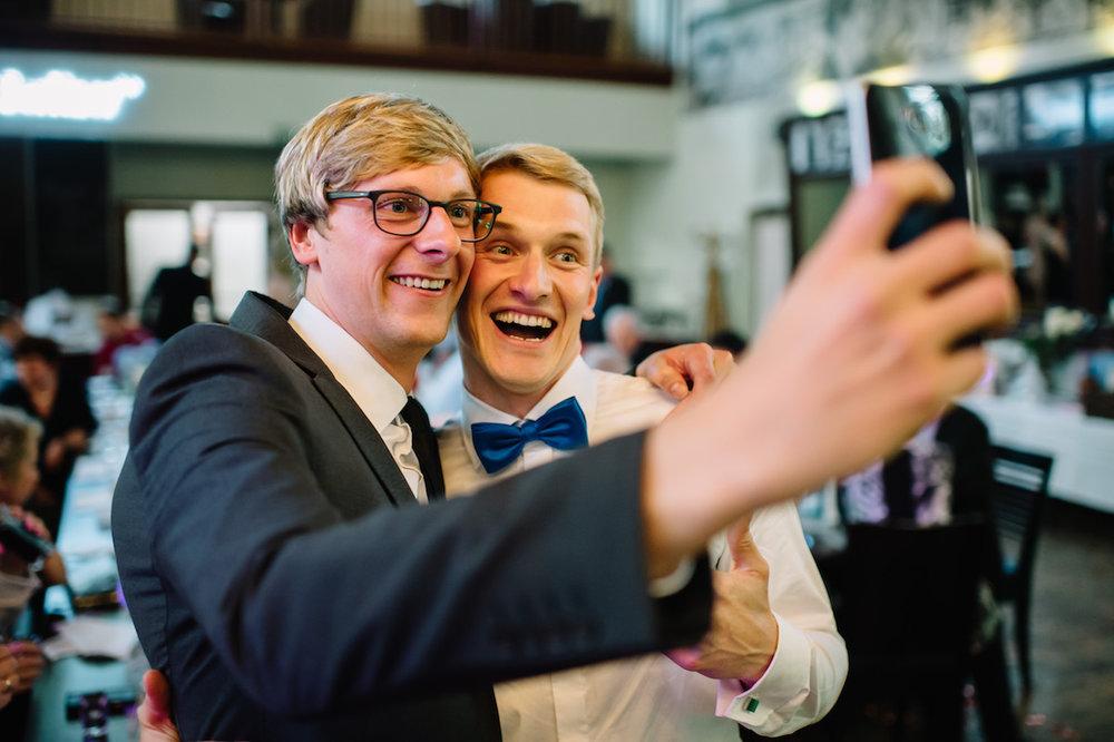 Hochzeitsreportage Freunde
