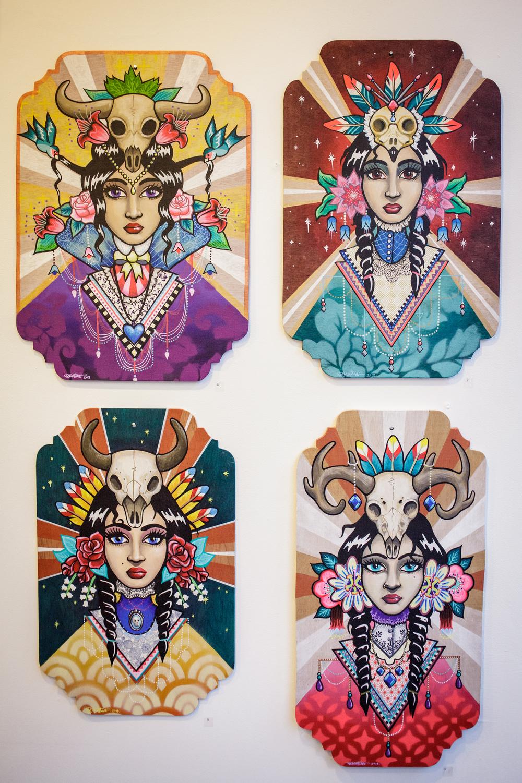 goddess paintings.