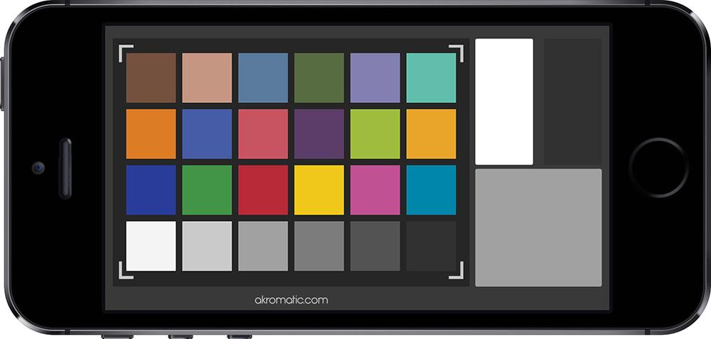 Colour checker para iPhone.