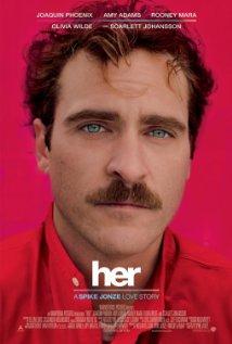 Título:  Her  Director:  Spike Jonze  Escritor:  Spike Jonze  Cinematógrafo:  Hoyte Van Hoytema