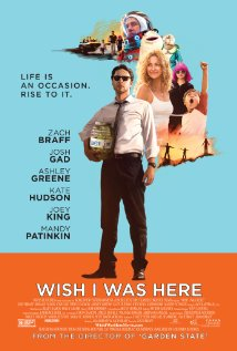 Título: Wish I was here Director: Zach Braff Escritor: Zach Braff Cinematógrafo: Lawrence Sher