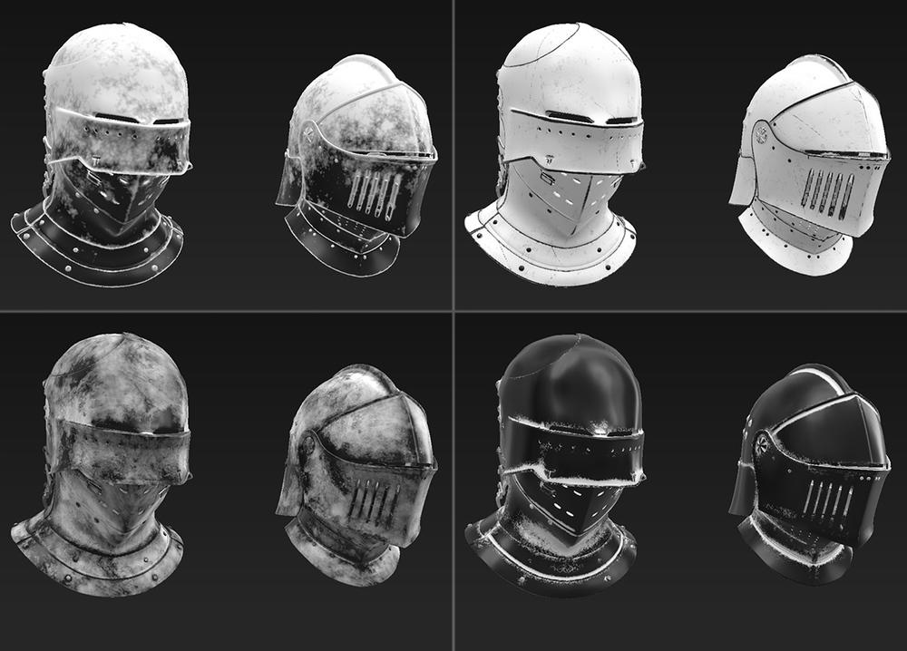 Susbstance masks.