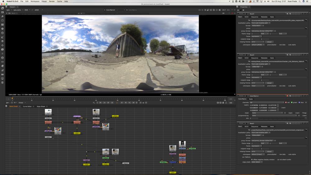 Captura de pantalla de Nuke.
