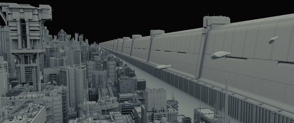 Blade Runner 2049 - Double Negative VFX - Copyright Warner Bros.