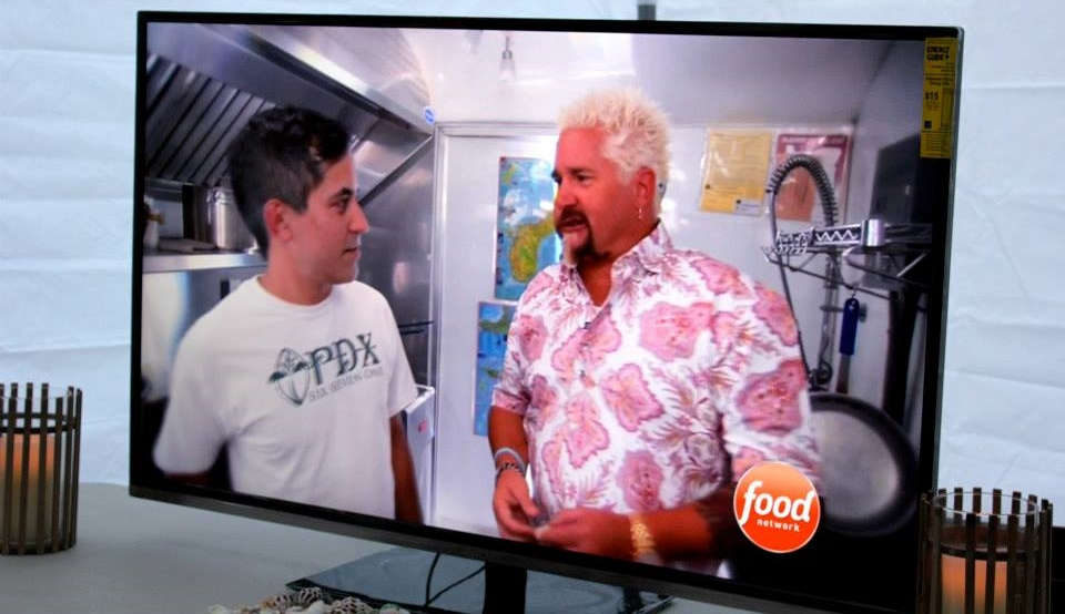 "January - PDX671 is featured on The Food Network's Diners, Drive-Ins and Dives with Guy Fieri (Season 19, ""Global Flavor Faves"")"