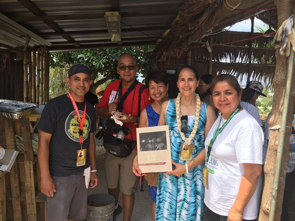 Ed Sablan, Manny Crisostomo, Thelma Hechanova, Tina Chung and Carmen Tenorio