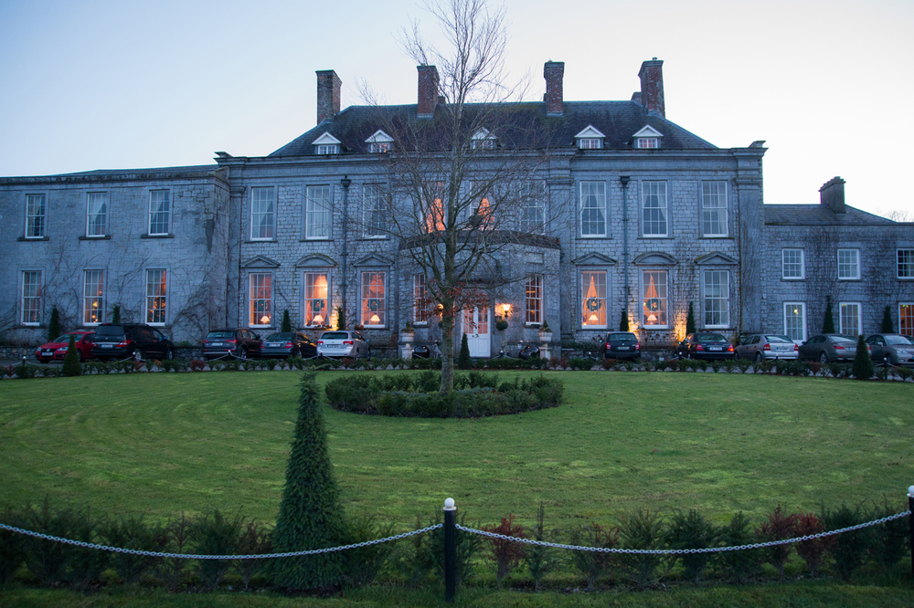 Real Weddings Castle Durrow: Real Weddings By KARA: A Winter Light Wedding At Castle