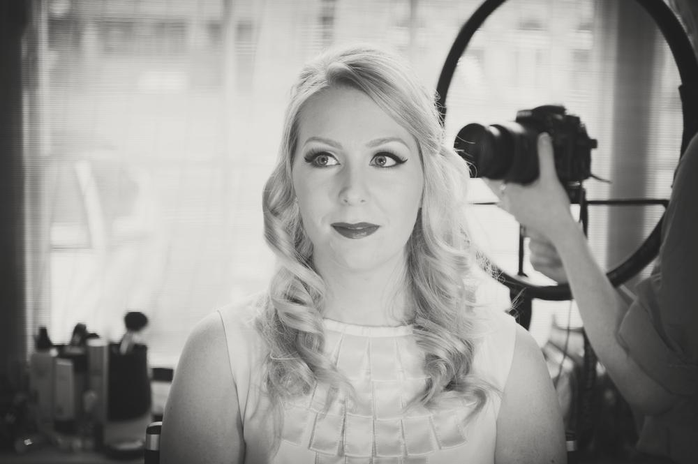 Vintage Wedding Makeup Tutorial : Vintage Bridal Makeup Tutorial with Emma Farrell for ...