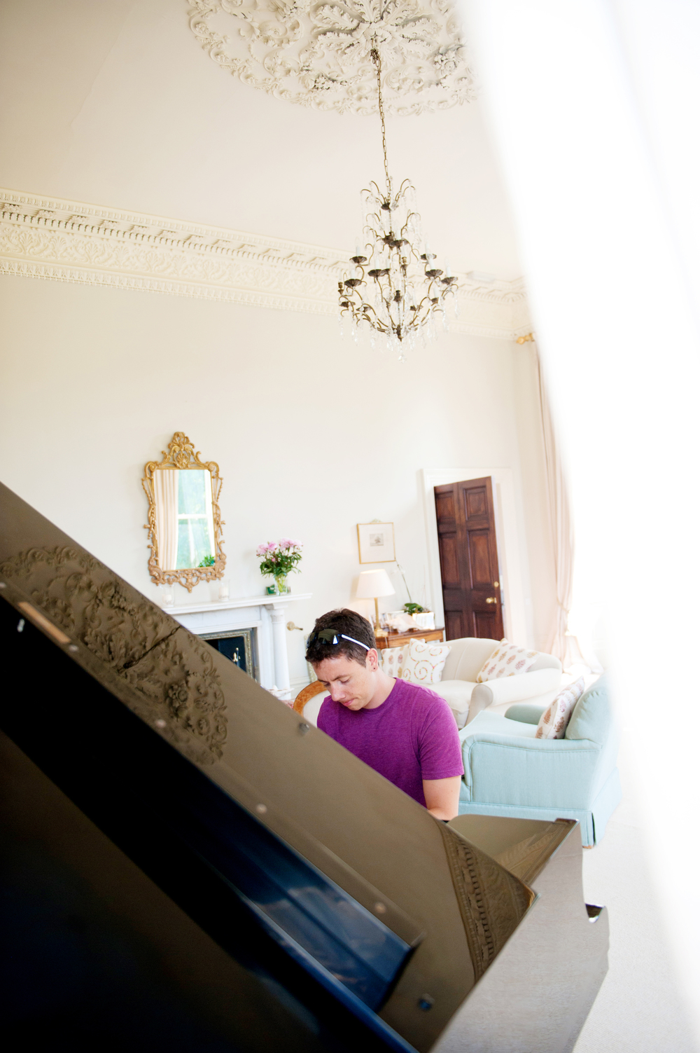 Kilshane House drawing room. -Photography:   Weddings by KARA   © - Wedding Location: Kilshane House, Tipperary, Ireland