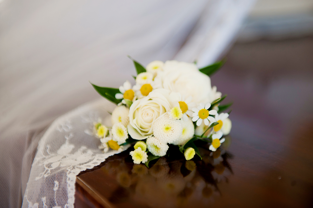 Flowers by Michelle of Cashel Flowers. - Photography: Weddings by KARA   © - Wedding Location: Kilshane House, Tipperary, Ireland